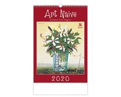 Nástěnný kalendář Art Naive 2020