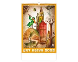 Nástěnný kalendář Art Naive 2022