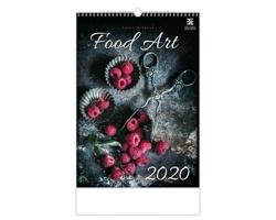 Nástěnný kalendář Food Art 2020