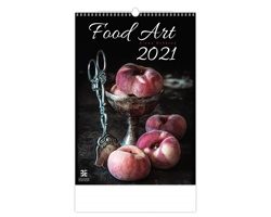 Nástěnný kalendář Food Art 2021