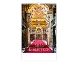 Nástěnný kalendář Bibliotech 2022