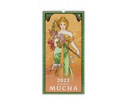 Nástěnný kalendář Alfons Mucha 2022