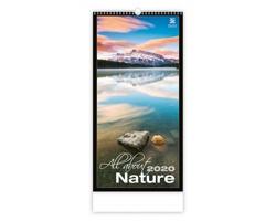 Nástěnný kalendář All About Nature 2020