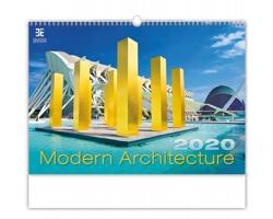 Nástěnný kalendář Modern Architecture 2020