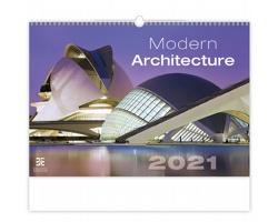 Nástěnný kalendář Modern Architecture 2021