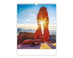 Nástěnný kalendář Geo Art 2020