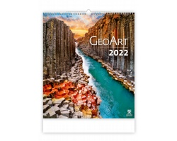 Nástěnný kalendář Geo Art 2022