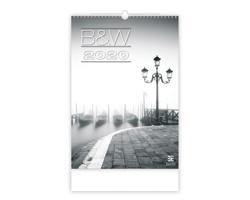 Nástěnný kalendář B & W 2020