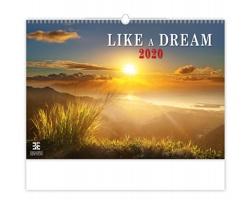 Nástěnný kalendář Like a Dream 2020
