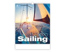 Nástěnný kalendář Sailing 2020