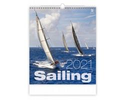 Nástěnný kalendář Sailing 2021