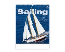 Nástěnný kalendář Sailing 2022