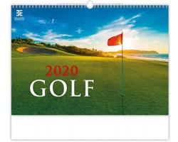 Nástěnný kalendář Golf 2020