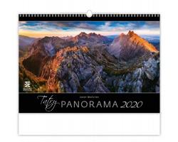 Nástěnný kalendář Tatry Panorama 2020
