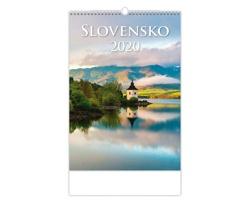 Nástěnný kalendář Slovensko 2020