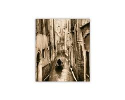 Luxusní dřevěný nástěnný obraz Venezia