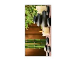 Luxusní dřevěný nástěnný obraz Zen