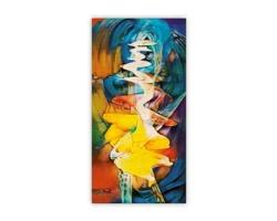 Luxusní dřevěný nástěnný obraz Abstract