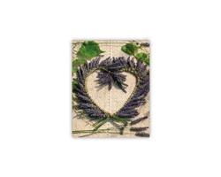 Luxusní dřevěný nástěnný obraz Heart