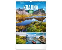 Nástěnný kalendář Krajina 2022