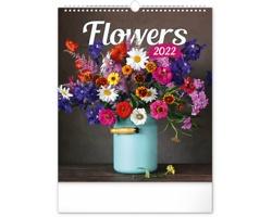 Nástěnný kalendář Květiny 2022