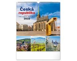Nástěnný kalendář Česká republika 2022