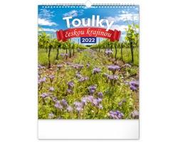 Nástěnný kalendář Toulky českou krajinou 2022