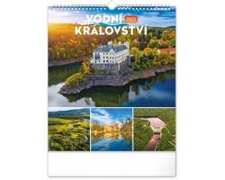 Nástěnný kalendář Vodní království - české přehrady 2022