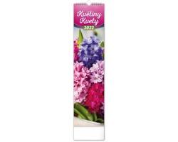 Nástěnný kalendář Květiny - Kvety 2022