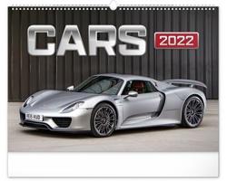 Nástěnný kalendář Auta 2022