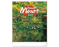 Nástěnný kalendář Claude Monet 2022