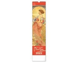 Nástěnný kalendář Alfons Mucha 2022 - vázanka