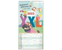 Nástěnný kalendář Rodinný plánovací XXL 2022