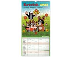 Nástěnný kalendář Rodinný plánovací Krteček XXL 2022