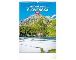 Nástěnný kalendář Národné parky Slovenska 2020 - slovenský