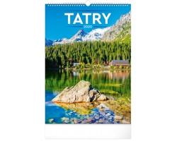 Nástěnný kalendář Tatry 2020