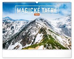 Nástěnný kalendář Magické Tatry 2020