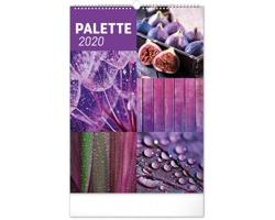 Nástěnný kalendář Paleta 2020