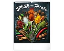 Nástěnný kalendář Koření a bylinky 2020