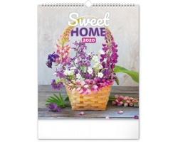 Nástěnný kalendář Sweet home 2020