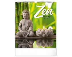 Nástěnný kalendář Zen 2020
