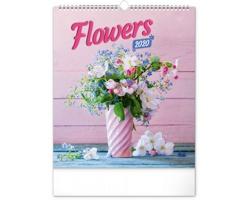 Nástěnný kalendář Květiny 2020