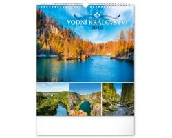 Nástěnný kalendář Vodní království 2020
