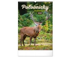 Nástěnný kalendář Poľovnícky 2020 - slovenský