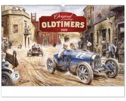 Nástěnný kalendář Oldtimers - Václav Zapadlík 2020