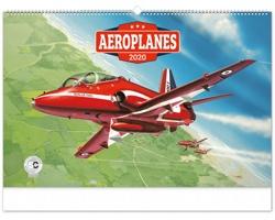 Nástěnný kalendář Aeroplanes - Jaroslav Velc 2020
