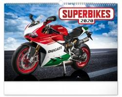 Nástěnný kalendář Superbikes 2020