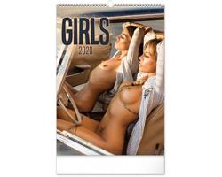 Nástěnný kalendář Girls 2020
