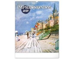 Nástěnný kalendář Impresionismus 2020
