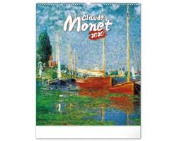 Nástěnný kalendář Claude Monet 2020
